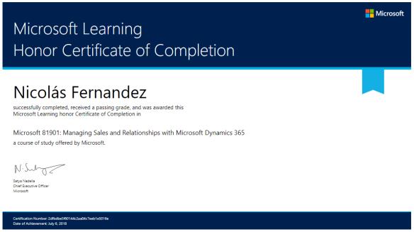 Certificado 81901