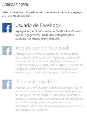 usuario facebook